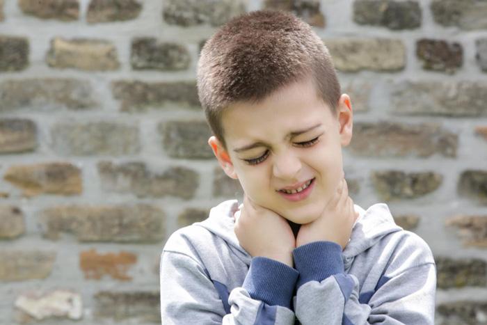 گردن درد در کودکان