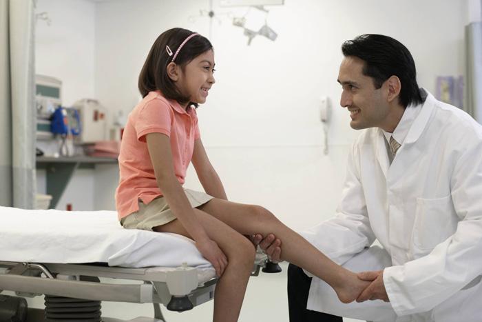 پیشگیری از آسیب پا در کودکان