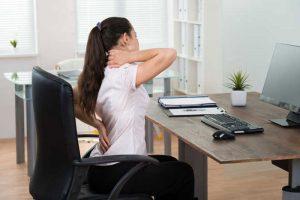 محیط کار باعث دیسک کمر و گردن می شود