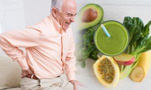 رژیم غذایی برای کاهش کمر درد